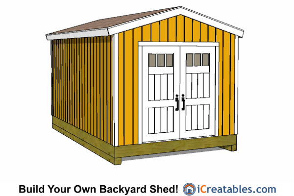 10x16 Gable Shed