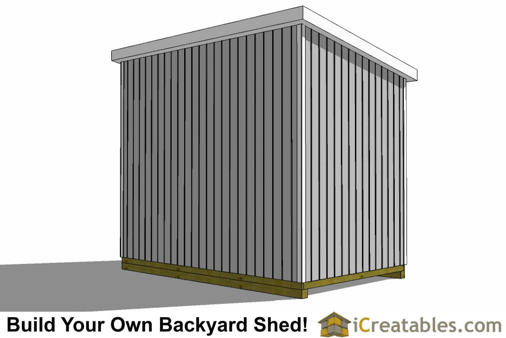 10x16 Lean To Shed Plans With Loft