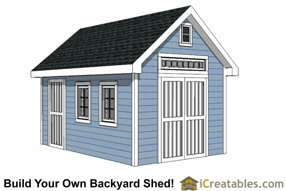 10x16 shed plans diy shed designs backyard lean to for 12x18 garage plans