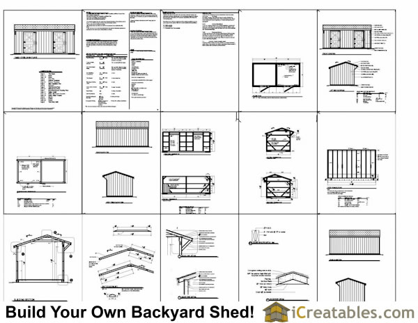 2 stall horse barn plans example
