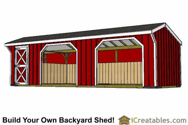 Pin 6x10 leanto shed 8x10 on pinterest for Tack shed plans