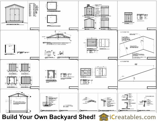 Avaliable 10x8 workshop shed for Boat storage shed plans