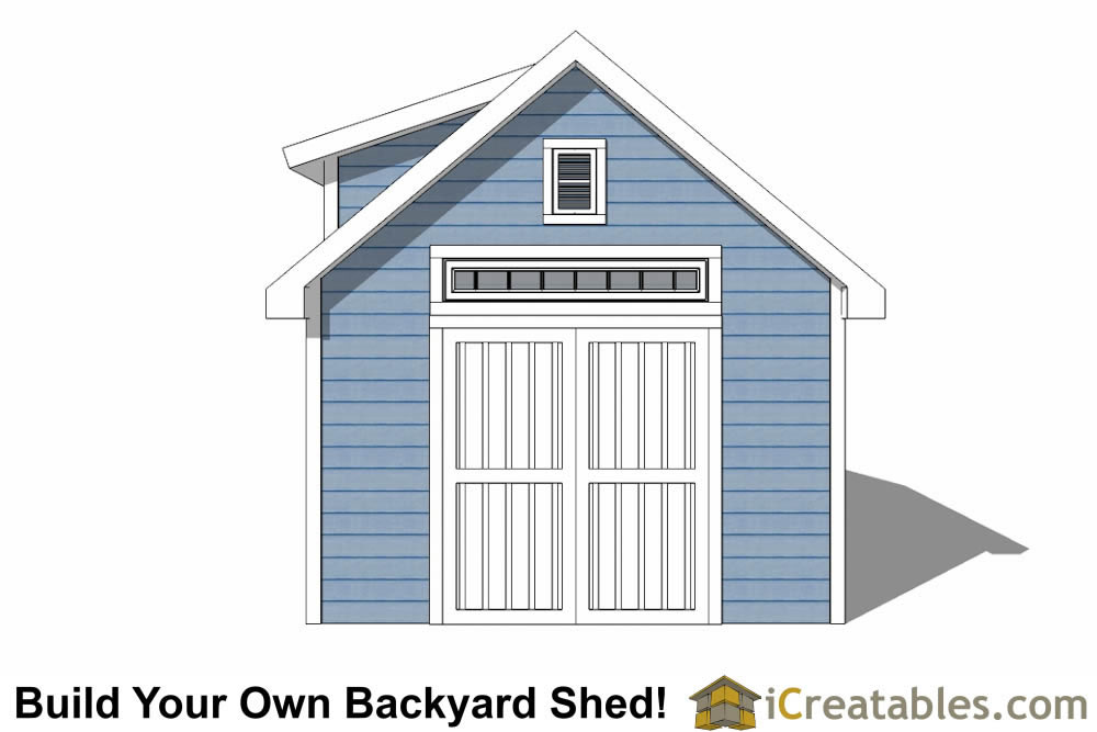 12x16 Storage Shed With Loft Plans 28 Images