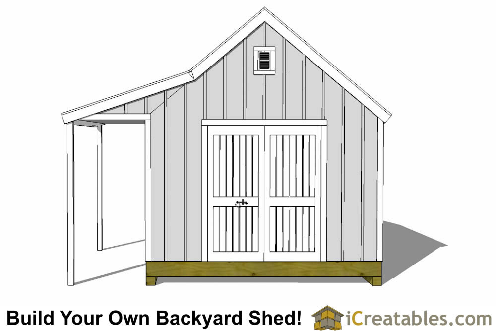 12x16 cape cod shed with porch plans icreatables Cape cod shed plans