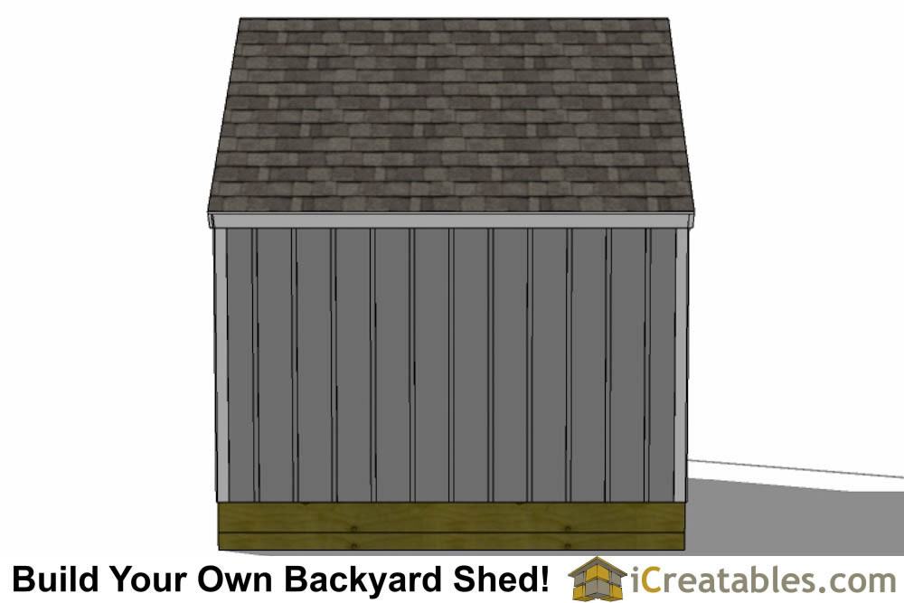 12x16 cape cod garden shed plans with porch back wall