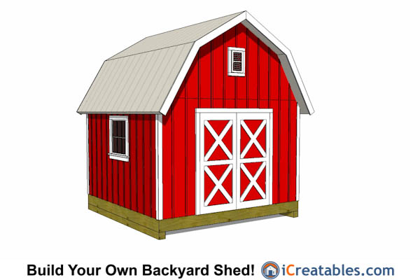 12x12 Gambrel Shed