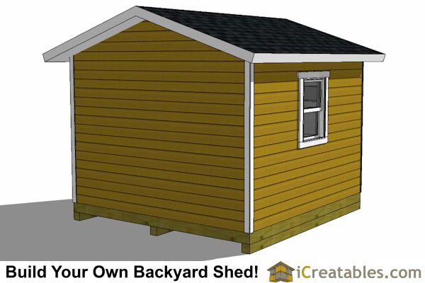 12x12 shed for motorcycle storage