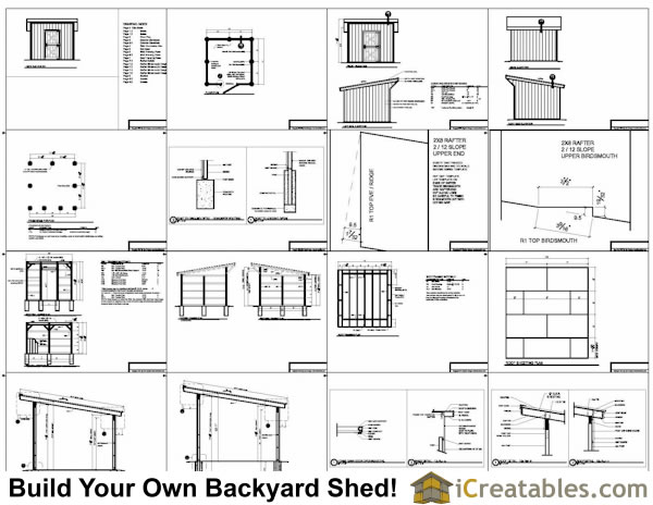 12x12 Horse Barn Plans One Stall Horse Barn Plans