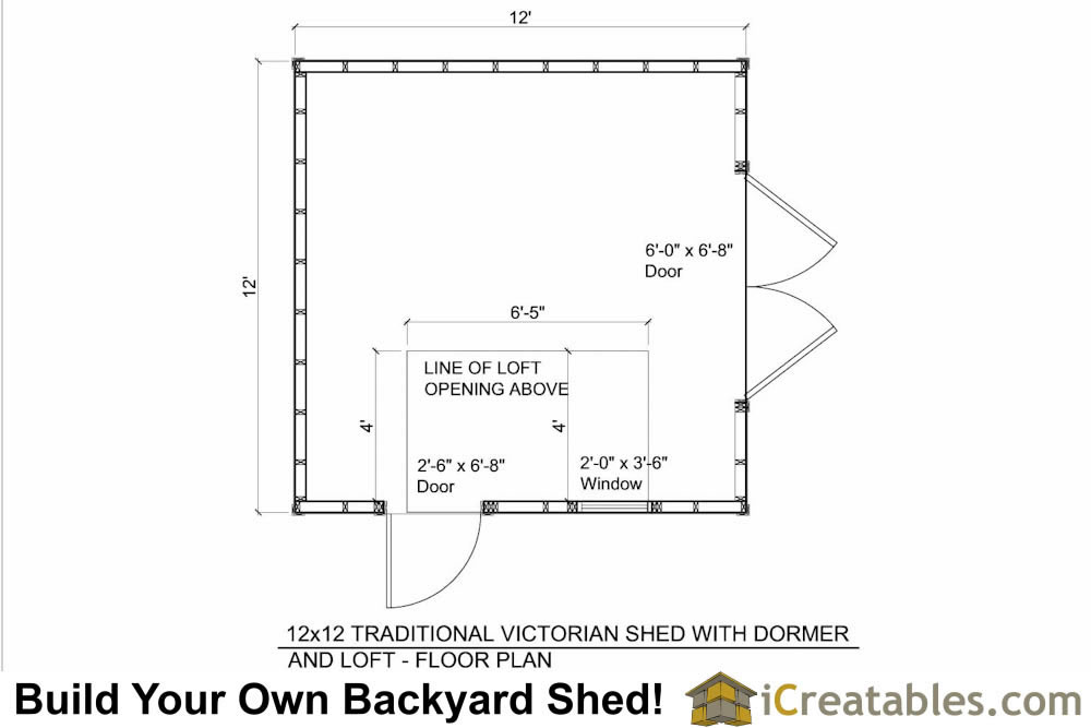 12x14 shed plans with dormer for 12x12 house plans