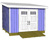 8x12 shed plans gable shed