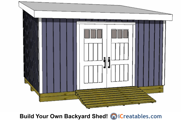 12x14 Lean To Shed