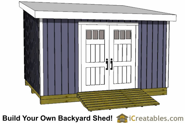 12x14 shed plans gable shed