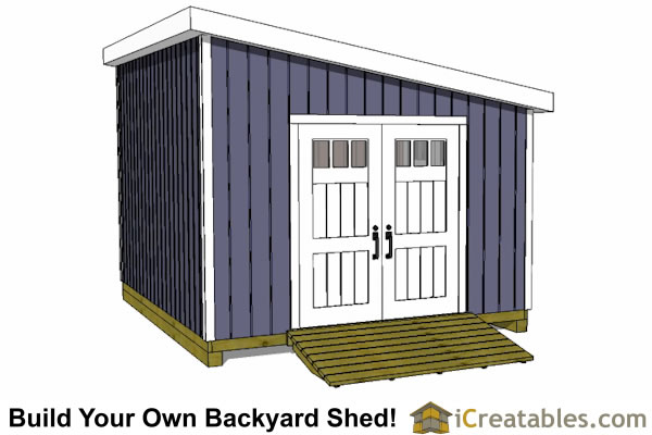 12x14 Lean To Shed Plans Icreatables Com