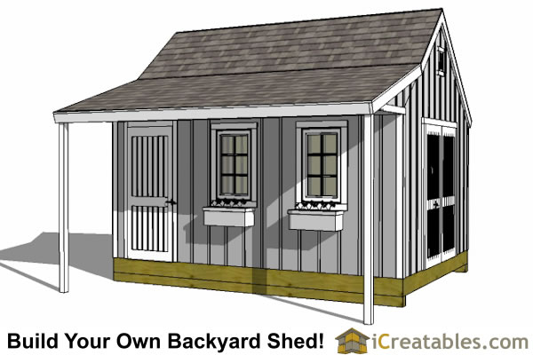 12x16 Storage Shed Plans : Shed plans professional designs easy
