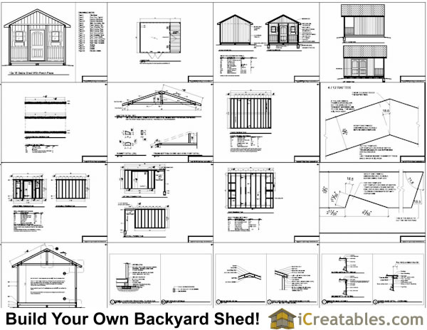 Gable porch on a double wide joy studio design gallery for Gable barn plans