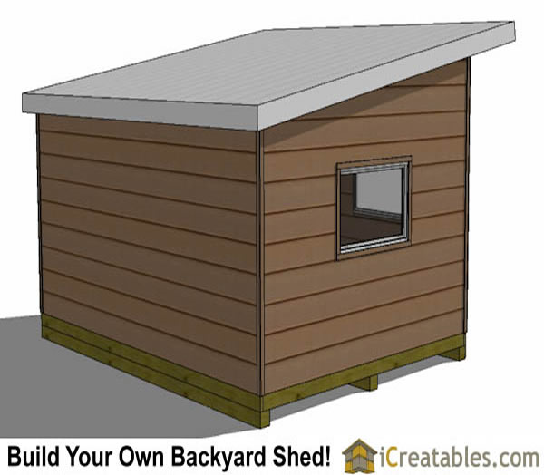 12x16 office shed plans rear
