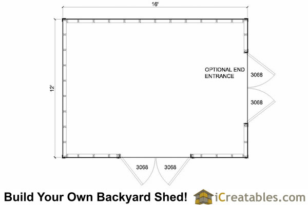 12x16 lean to shed plans 12x16 storage shed plans for 12x16 shed floor plans