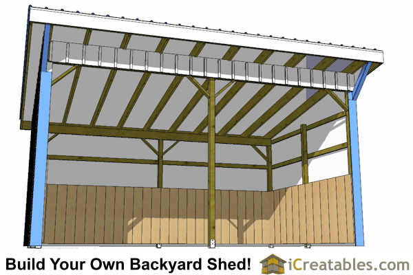12x18 run in shed plans inside