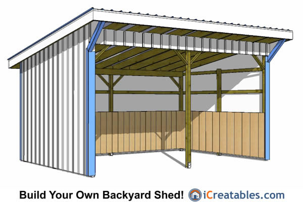 Small horse barn plans 12x16 joy studio design gallery for Design your own barn