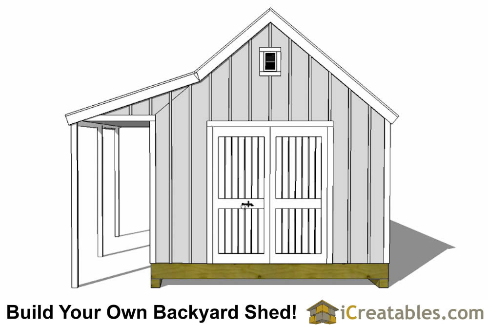 Cape Cod Shed With Porch Plans Icreatables