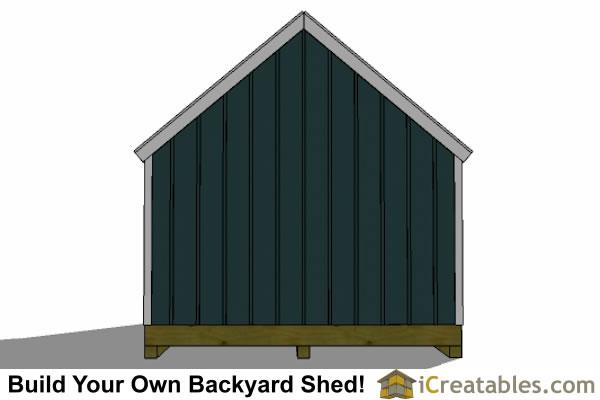 Ham 6 X 10 Shed Plans On Skid Steer