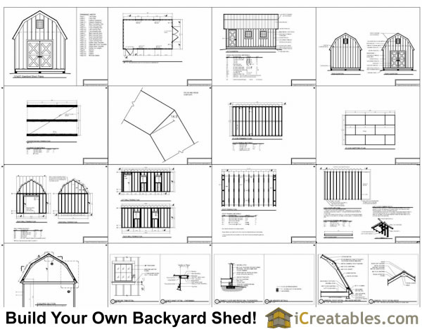 Shed With Overhang Plans Images
