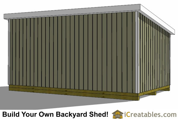Ham how to build a lean to shed video must see for Material list for shed