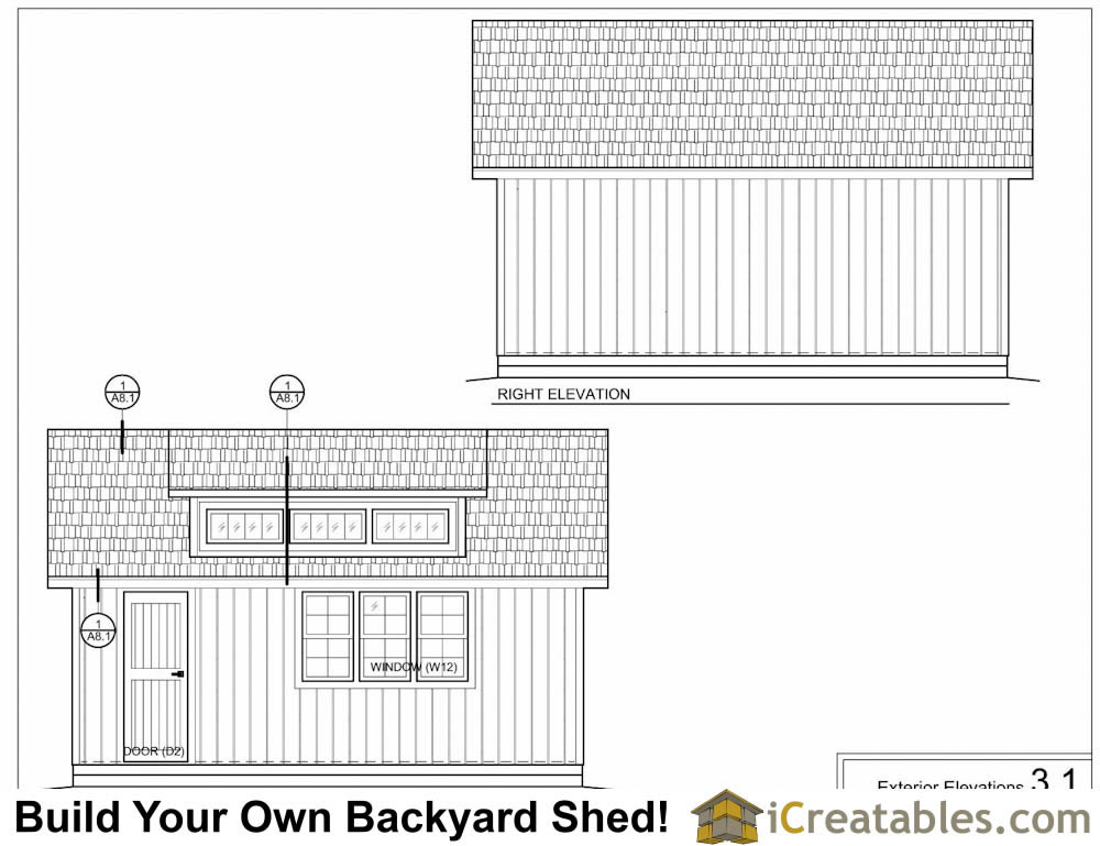12x20 shed with dormer and loft plans