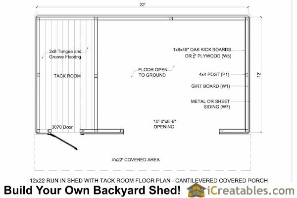 Sheds Plan For Building