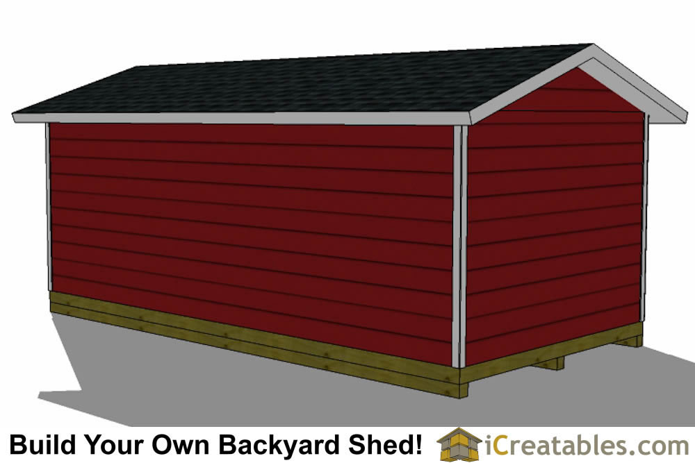 12x24 backyard large shed plans for Large shed plans