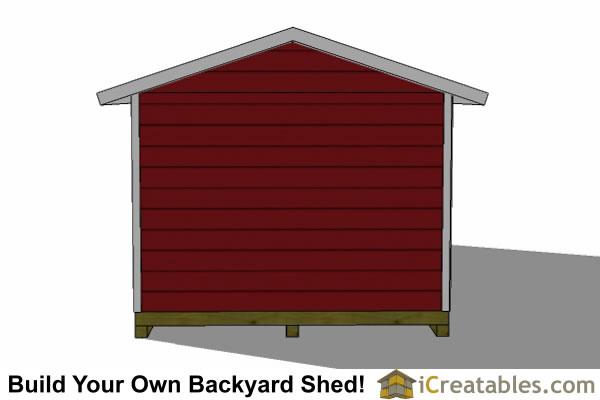 12x24 Garage Shed Plans   iCreatables.com on 24' Garage Door  id=27231