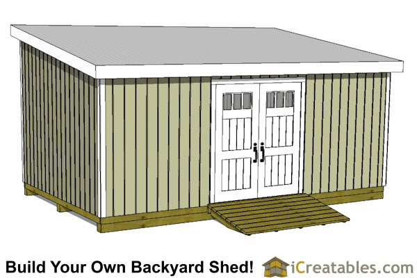 12x24 Shed Plans Easy To Build Shed Plans And Designs