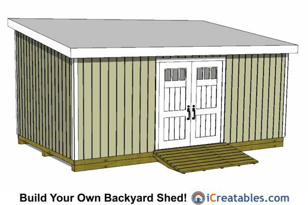 Large shed plan
