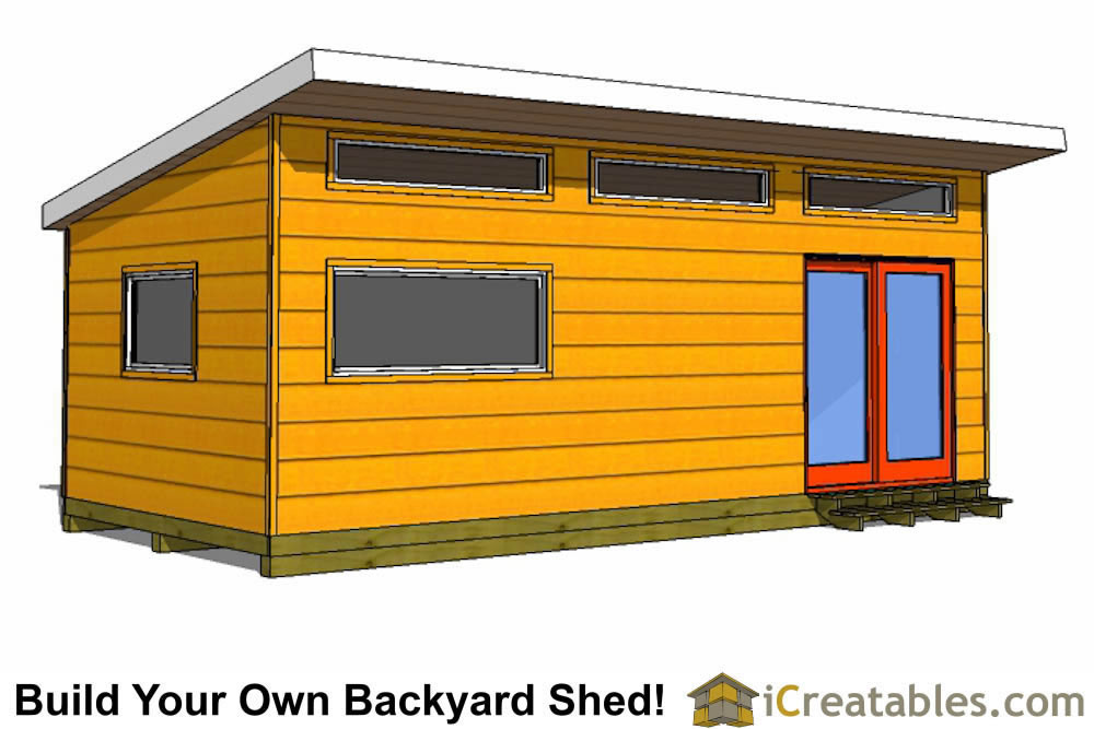 12x20 gambrel shed with porch