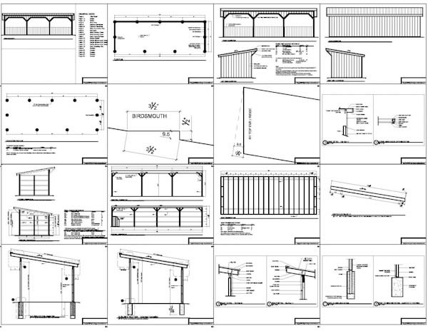 how to build a sloped shed roof run in shed barn plans – Portable Garage Plans