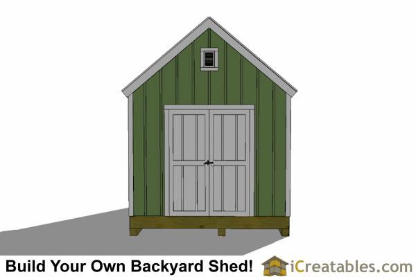 Sheds Ottors: Garden shed plans 6x8