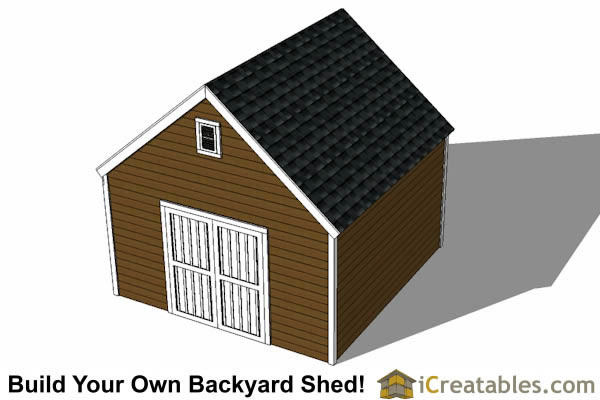 14x14 Garage Shed Plans Icreatables 28 Images