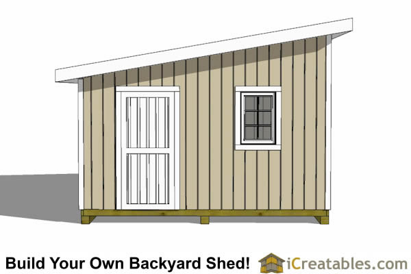 14x20 lean to shed plans easy to build large shed plans for Garage lean to plans