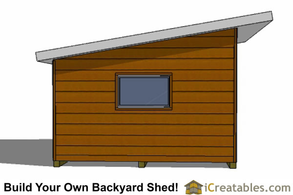 Modern Shed Design Plans With Loft Modern Shed House Plans House