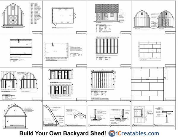 Roofing A Gambrel Roof Shed