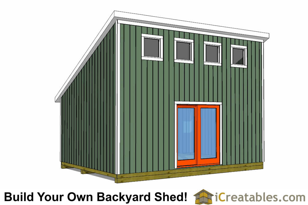 Easy To Build DIY Shed Designs
