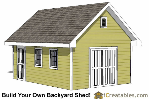 Diy Storage Shed Plans Free