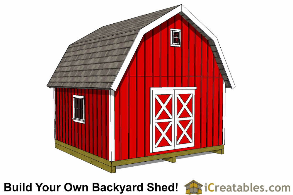 16x20 shed with garage door shed plans