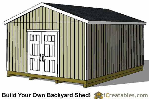 16x20 gable shed plans large backyard shed plans for 16x20 garage plans