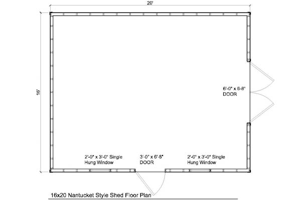 Download 20 x 20 storage building plans plans free for 16x20 garage plans