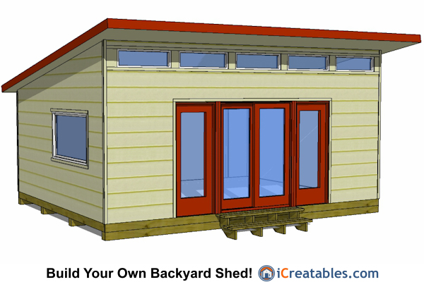 Free shed building plans 16x20 portable building plans for 16x20 garage plans