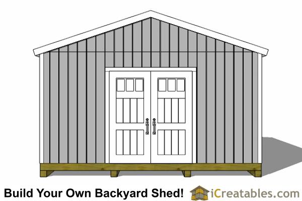 Icreatables 16x24 Shed Materials List Joy Studio Design