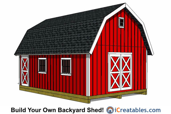 Instructions for building a shed 16 x 24 gambrel roof for 18 x 24 shed plans