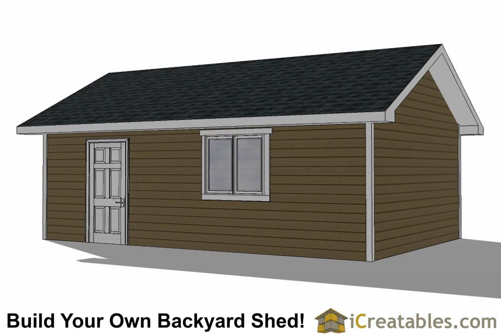 16x24 Garage Shed Plans Build Your Own Large Shed With A