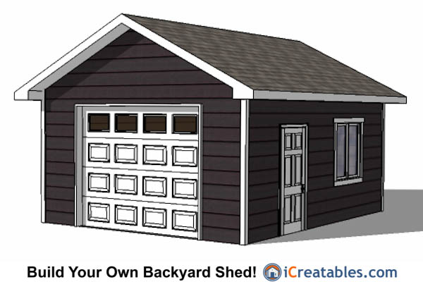 16 X 24 Shed Plans